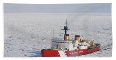 Uscgc Polar Sea Conducts A Research Beach Sheet