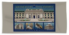Usna Monuments Tribute 2 Beach Towel