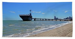 Uss Lexington Beach Towel