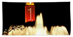 Ut Tower Championship Win Beach Towel