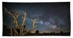 Utah Milky Way Beach Towel