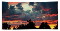 Beach Towel featuring the photograph Utah Sunset by Bryan Carter