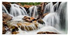Utah Waterfall Beach Towel