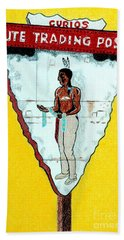 Ute Trading Post Beach Towel