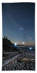 Beach Towel featuring the photograph UV by Doug Gibbons