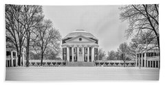 Uva Rotunda Winter 2016 Beach Towel by Kevin Blackburn