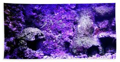 Beach Towel featuring the photograph Uw Coral Stone 2 by Francesca Mackenney