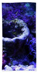 Beach Sheet featuring the digital art Uw Coral Stone by Francesca Mackenney