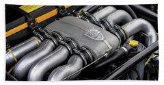 V8 Porsche Beach Towel
