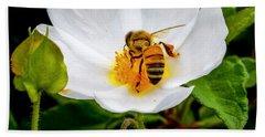 Vacaville Honey Bee Beach Towel