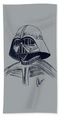 Vader Sketch Beach Towel