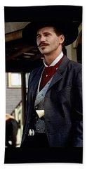 Val Kilmer As Doc Holliday Tombstone Set 1993-2015 Beach Towel