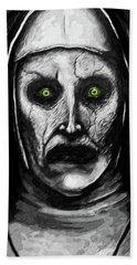 Valak The Demon Nun Beach Sheet by Taylan Apukovska