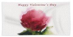 Valentine's Day  Beach Sheet