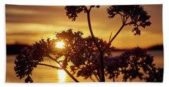 Valerian Sunset Beach Towel