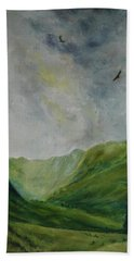 Valley Of Eagles Beach Towel