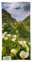 Valley Of The Lilies Beach Towel