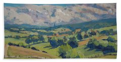 Valley Schweiberg Beach Towel