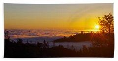 Valley Sunset Beach Towel