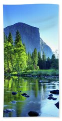 Valley View Morning Beach Towel