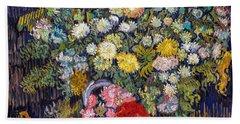 van Gogh's Vase          Beach Towel