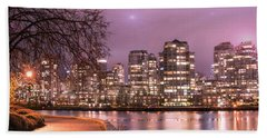 Beach Towel featuring the photograph Vancouver, Canada by Juli Scalzi