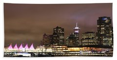 Vancouver Canada Place Beach Towel