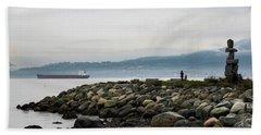 Vancouver English Bay Beach Towel