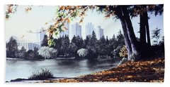 Vancouver Fall Beach Towel