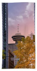 Vancouver Lookout From Gastown Beach Towel