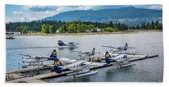 Vancouver Seaplanes Beach Towel