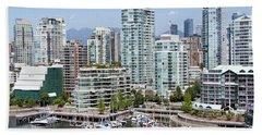 Vancouver's West End Beach Towel