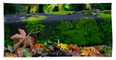 Varigated Fall Beach Sheet by Marie Neder