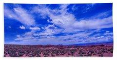 Vast Desert Sky Beach Towel