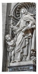 Vatican Statue Beach Sheet