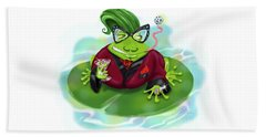 Vegas Frog Bachelor Pad Beach Sheet