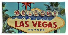 Vegas Beach Towel
