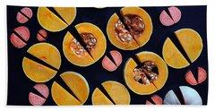 Vegetable Patterns Beach Towel