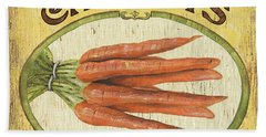 Veggie Seed Pack 4 Beach Towel by Debbie DeWitt