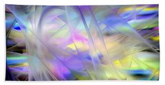 Veils Of Color Beach Towel