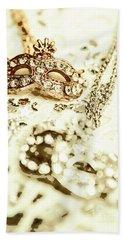 Venetian Crystal Style Beach Towel