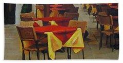 Venetian Tables Beach Towel
