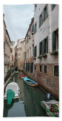 Venetian View II Beach Sheet by Yuri Santin