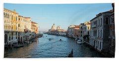Venetian View  Beach Towel by Yuri Santin
