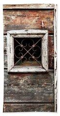 Venetian Window Beach Sheet