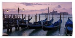 Beach Towel featuring the photograph Venice Dawn II by Brian Jannsen