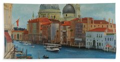 Venice Grand Canal I Beach Towel
