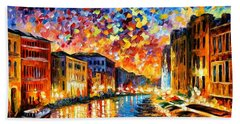 Venice - Grand Canal Beach Towel