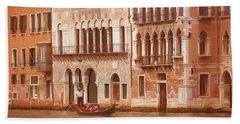 Venice Italy Beach Sheet