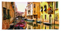 Venice Morning Beach Sheet